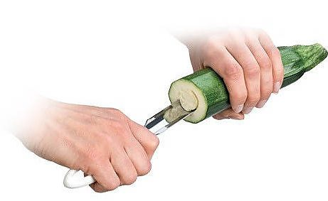 Nożyk do wydrążania nasion cukinii ze stali nierdzewnej