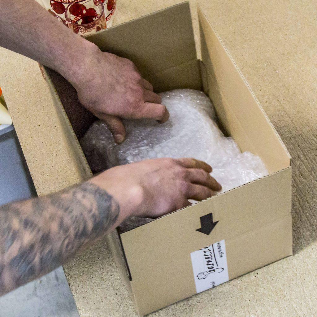 Pakowanie do kartonu