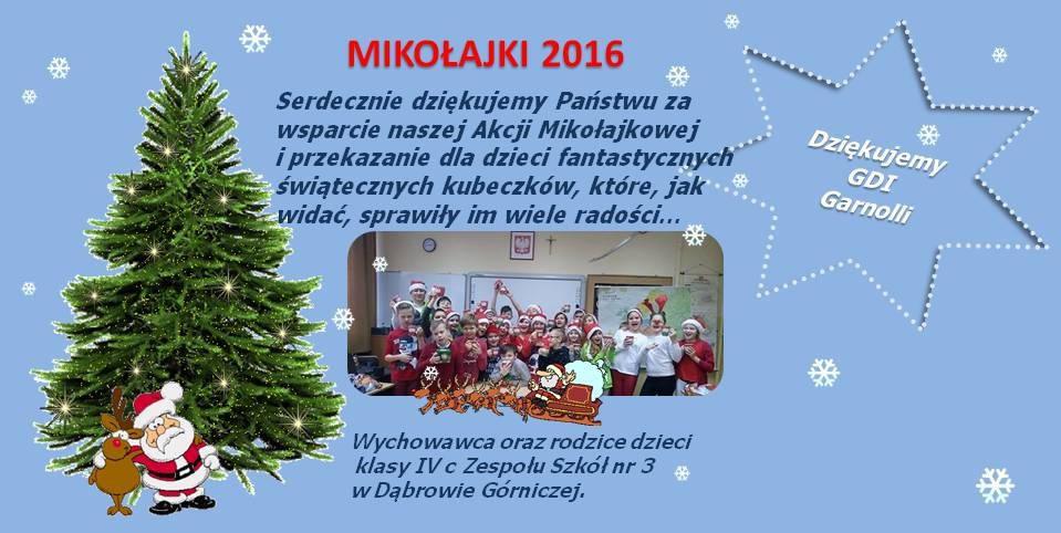 Akcja Mikołajkowa - garneczki.pl