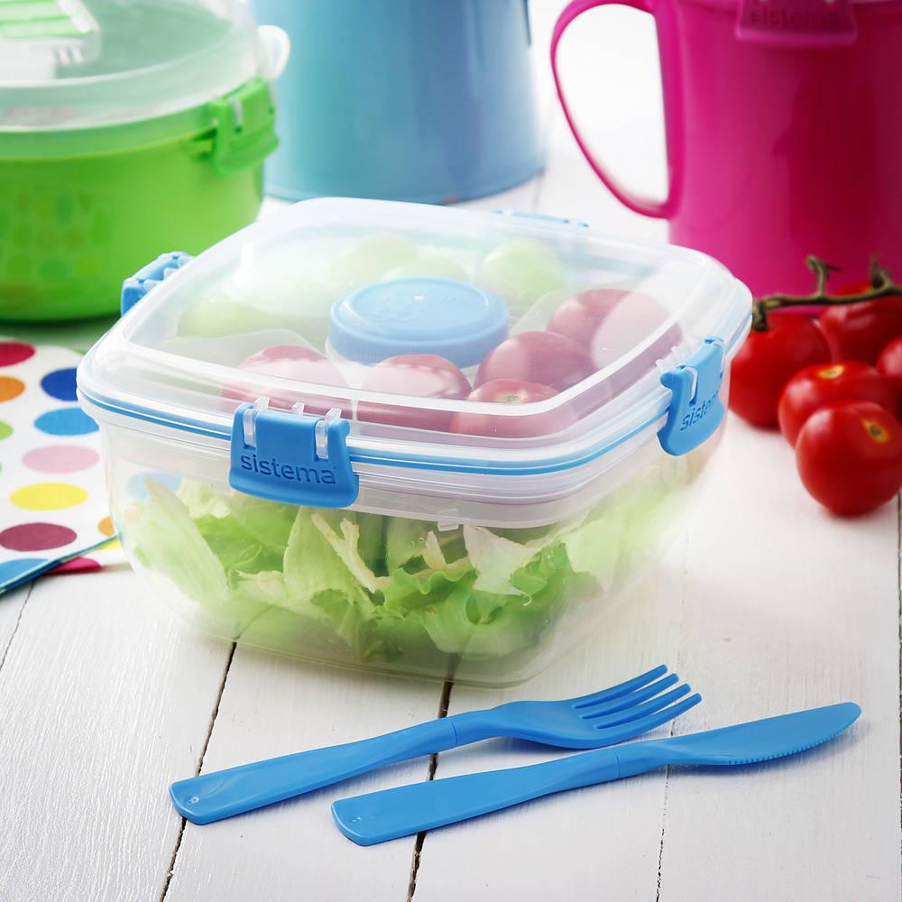 Pojemnik do przechowywania żywności plastikowy sistema