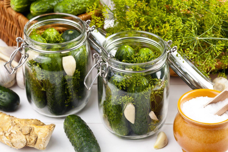 Przepis na ogórki kiszone w słoikach. Jak dobrze zakisić ogórki?