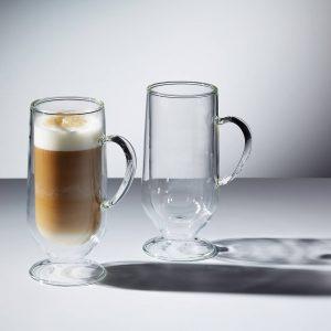 Szklanki do kawy z podwójną ścianką Kitchen Craft