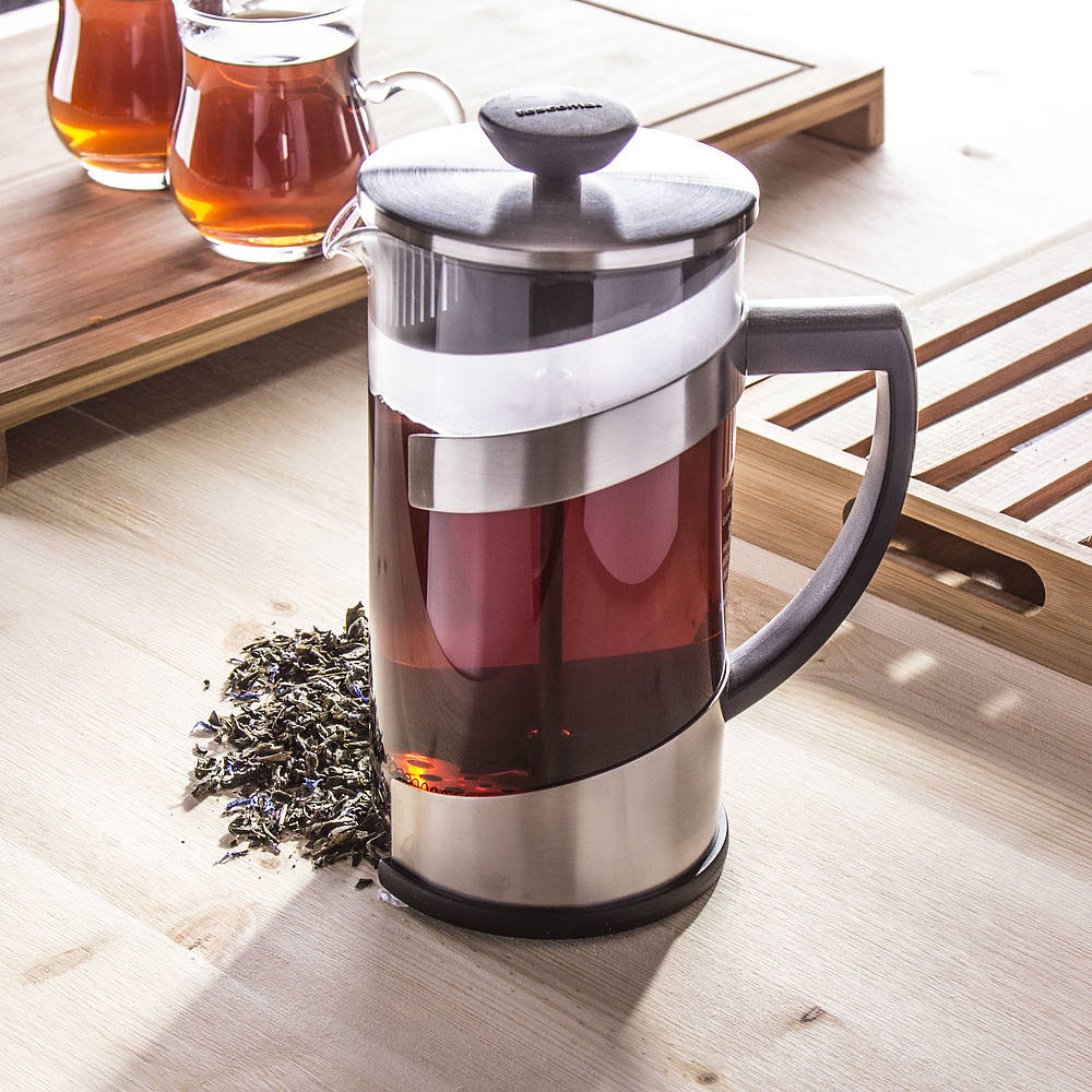 zaparzacz tłokowy do herbaty Tescoma