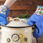 Rękawice i łapki kuchenne – z materiału, silikonowe czy neoprenowe?
