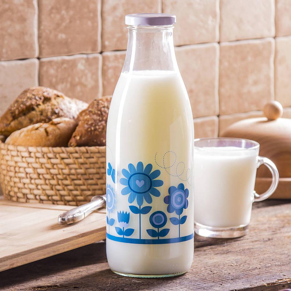 butelka szklana na mleko