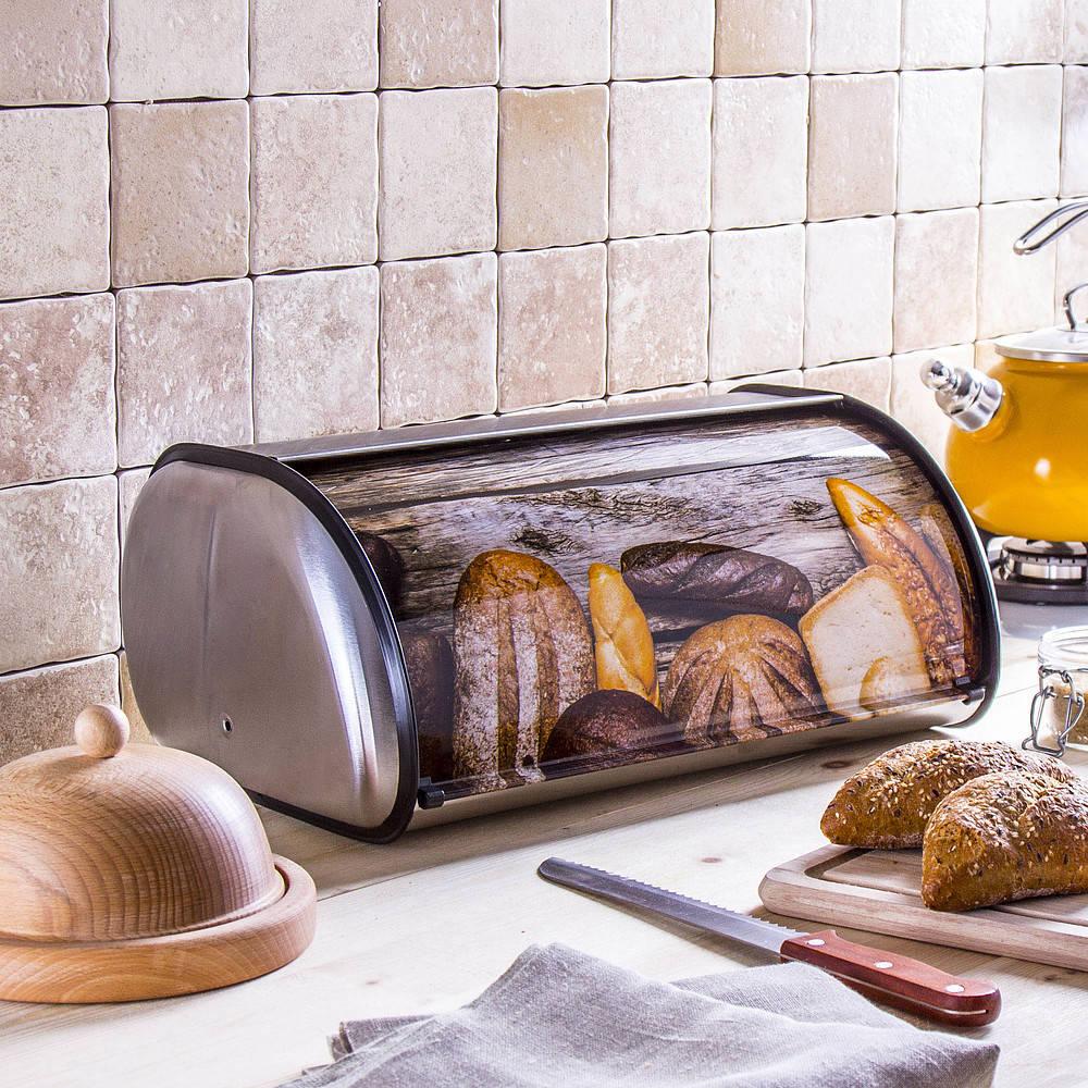 Chlebak stalowy Futuro