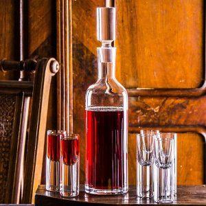 Karafka szklana do wina i nalewek Krosno