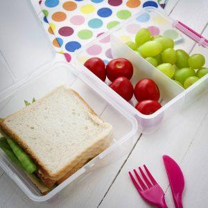 Lunchbox z przegródkami Sistema