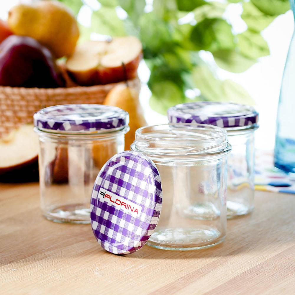 Małe słoiczki szklane Florina