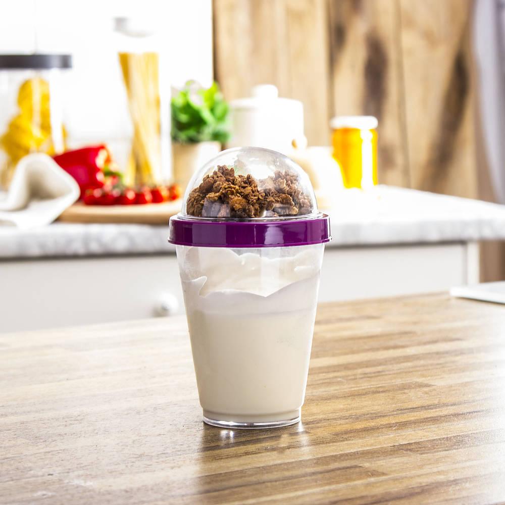 Pojemnik na jogurt i owoce Two go