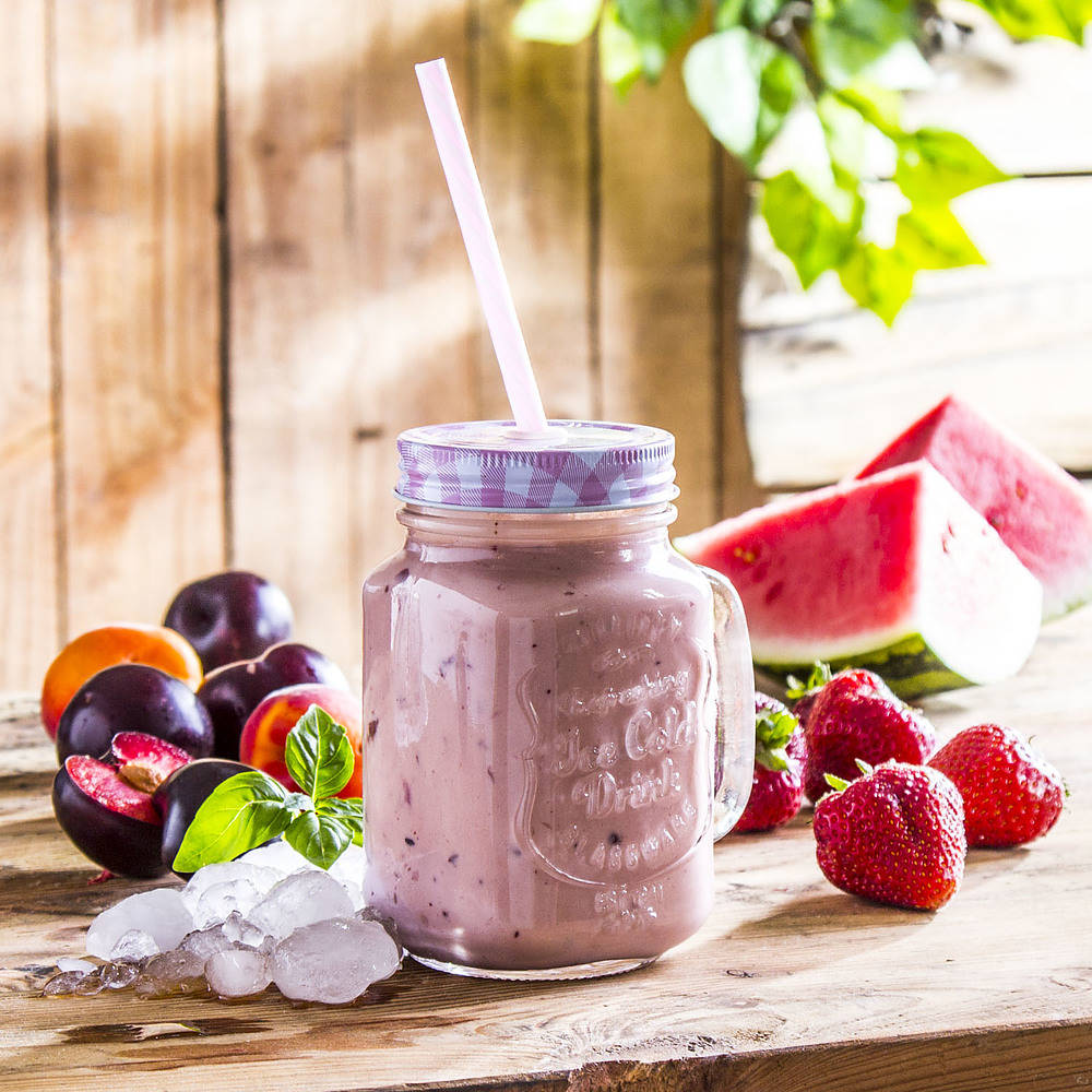 słoik do koktajli i smoothie drink jar