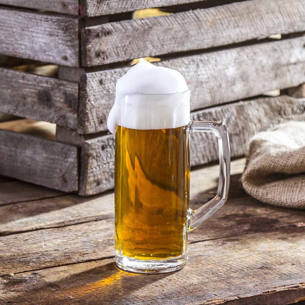 Szklany kufel do piwa Ceramika Tułowice