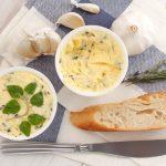 Przepisy na domowe masła smakowe - czosnkowe, ziołowe, chrzanowe i inne