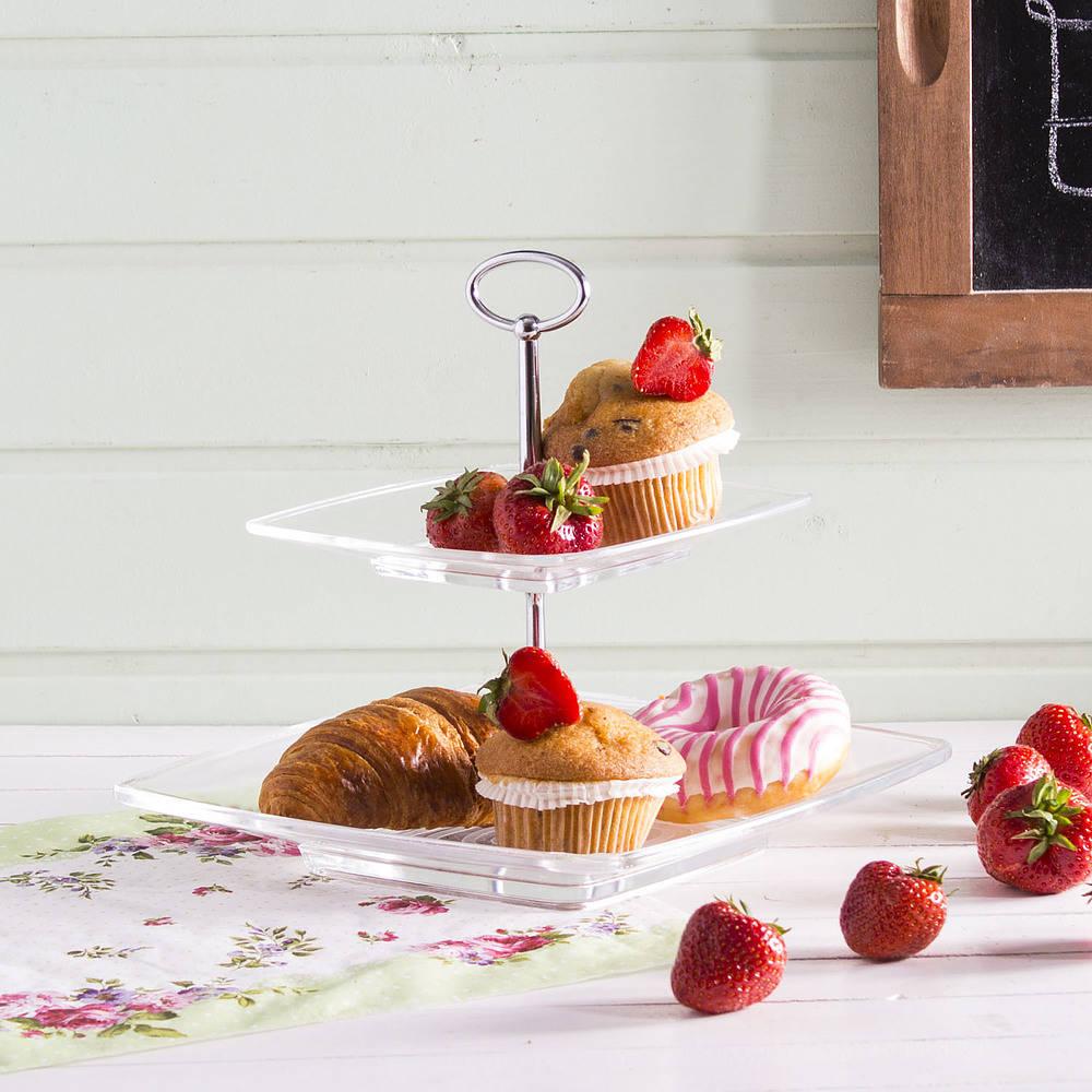 Patera na tort, ciasto lub owoce - przegląd