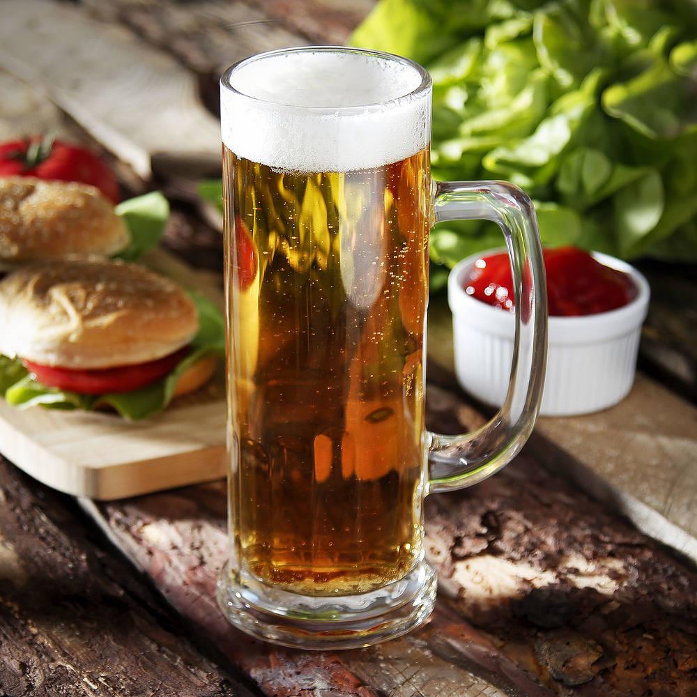 Kufel do piwa szklany Europa