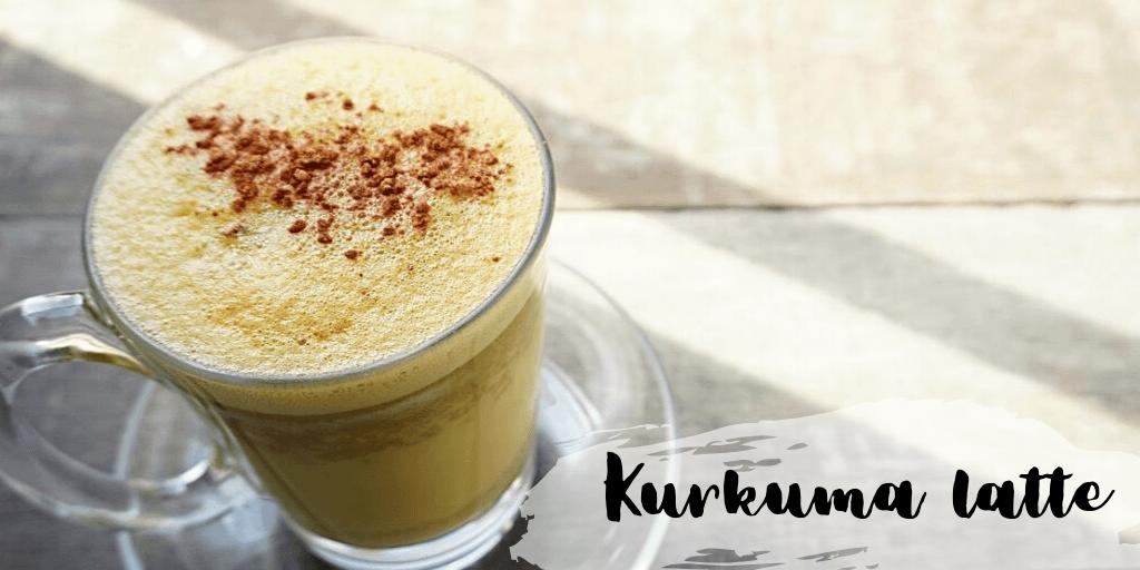 Kurkuma latte - przepis