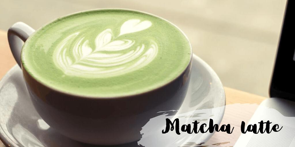Matcha latte - przepis