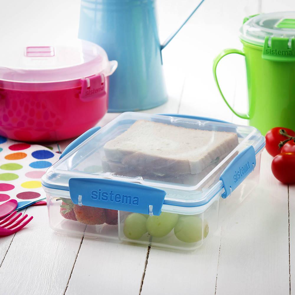 pojemnik na lunch plastikowy sistema lunchbox