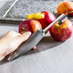Stalowa drylownica do jabłek Apple