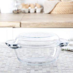Szklane naczynie do zapiekania Termisil