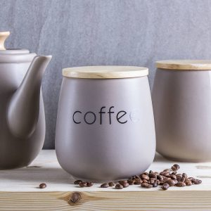 Ceramiczny pojemnik do kawy Florina Sabbia