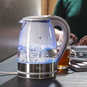 Czajnik szklany podświetlany Gallet