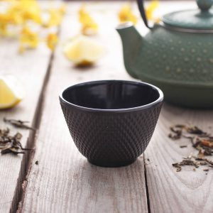 Czarka żeliwna do herbaty Black