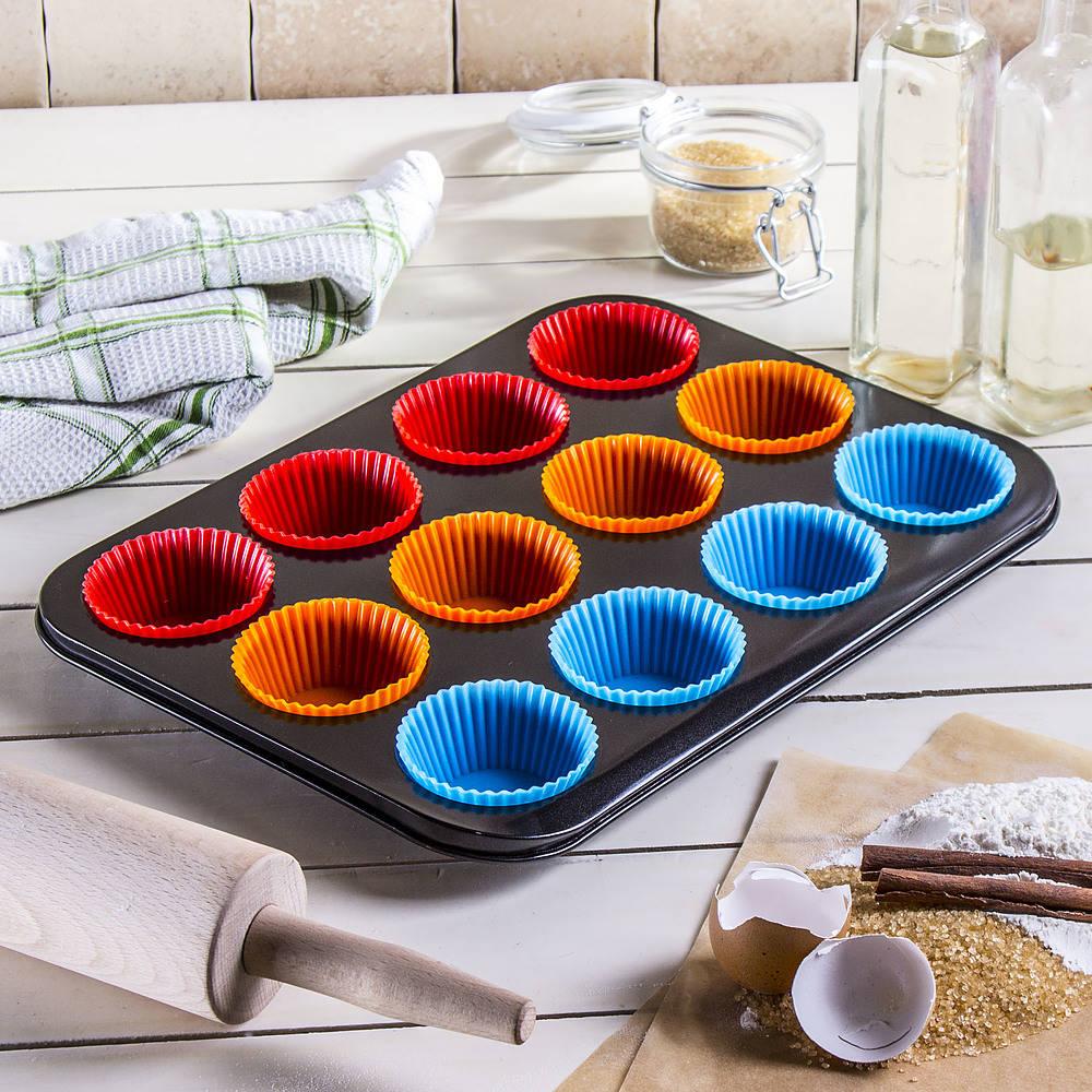 Forma do pieczenia babeczek z papilotkami Brunhoff Cake