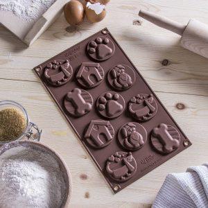 Forma silikonowa do czekoladek Silikomart Dogs
