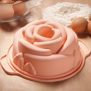 Forma silikonowa róża Silikomart