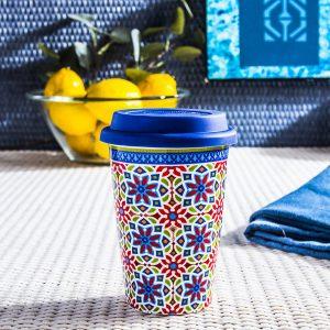 Kubek termiczny porcelanowy Duo Agadir