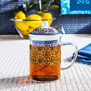 Kubek-zaparzacz do herbaty Duo Agadir
