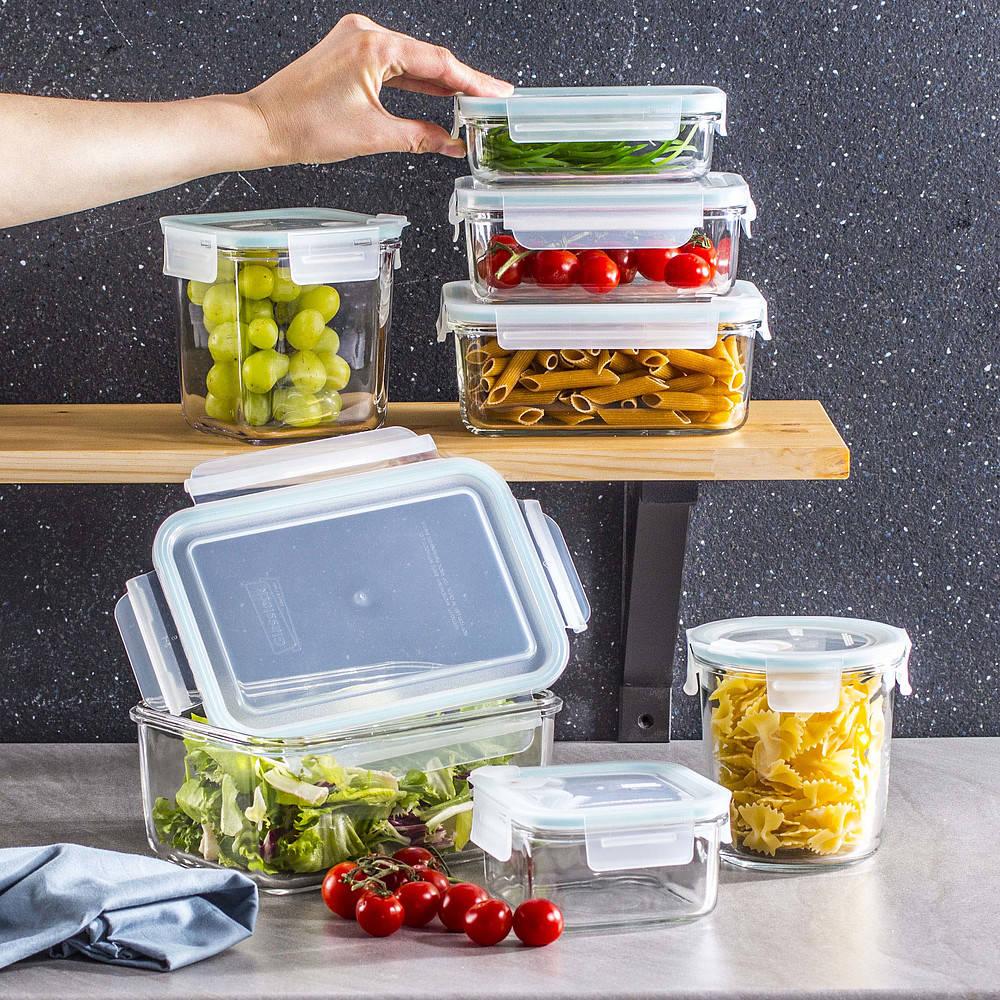 Pojemniki hermetyczne na żywność Glasslock