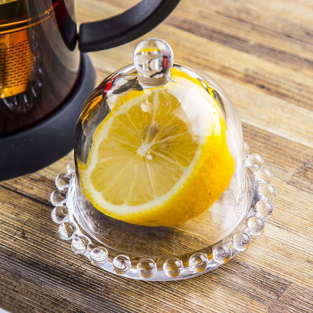 Pojemnik na cytrynę szklany