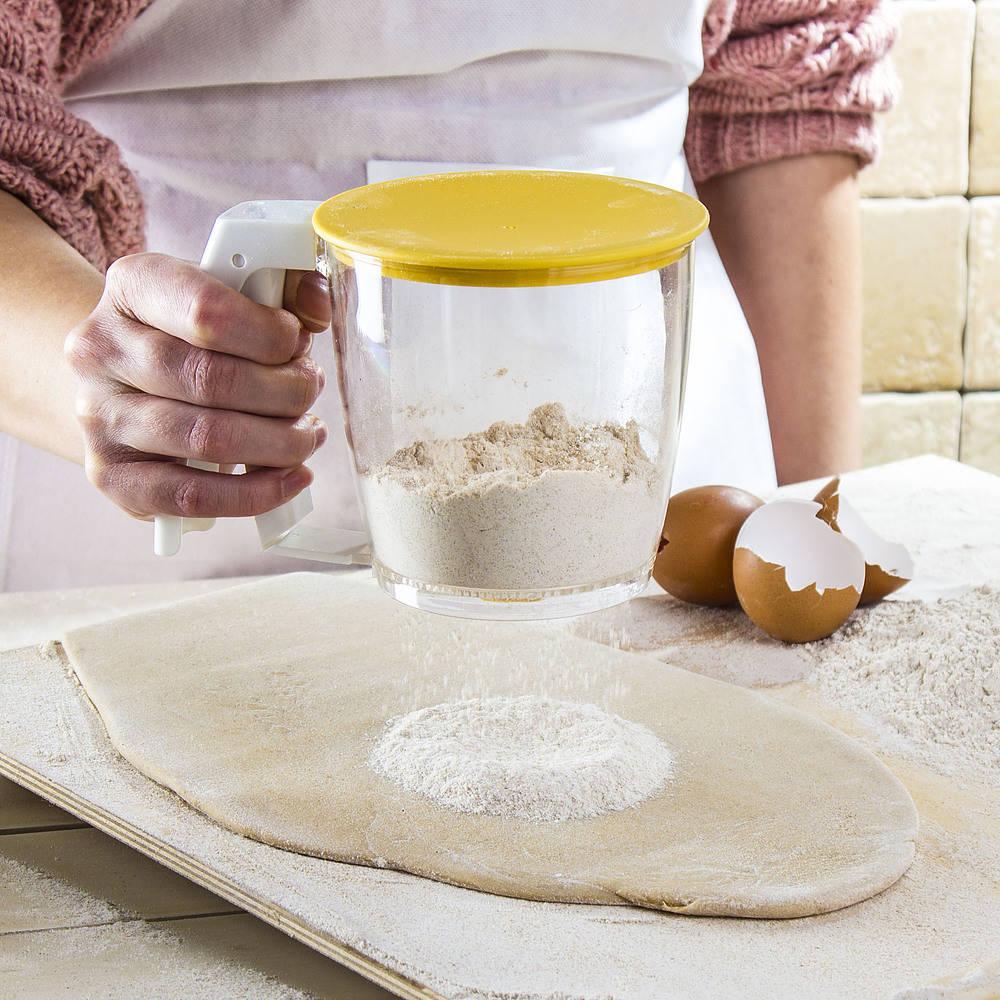 Przesiewacz do maki i cukru pudru Tescoma