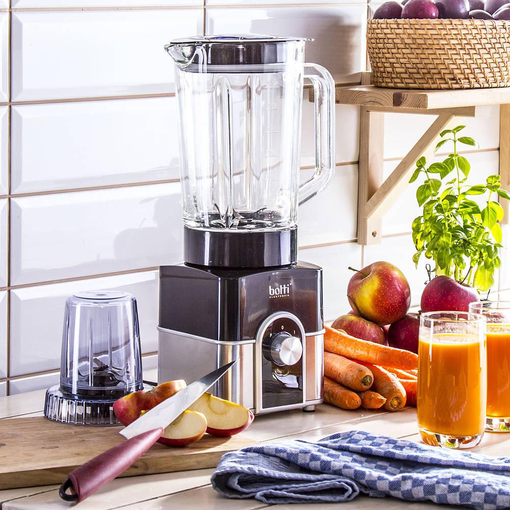 Blender kuchenny kielichowy Botti Silver Line