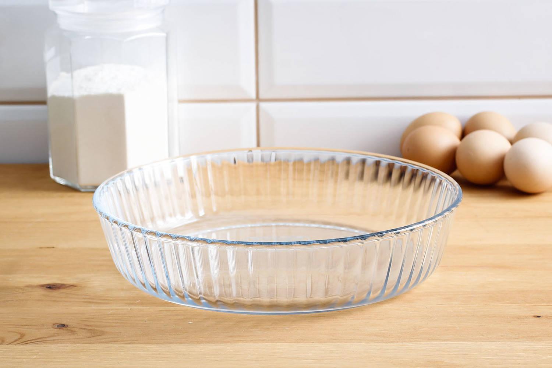 forma dopieczenia tarty szklana pyrex
