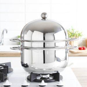 Garnek do gotowania na parze Frabosk Set