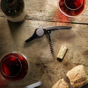 Stalowy korkociąg do wina Peugeot