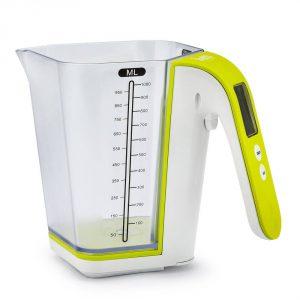Miarka kuchenna elektroniczna z wagą Botti Lime