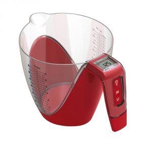Miarka kuchenna elektroniczna z wagą Giannini Reba