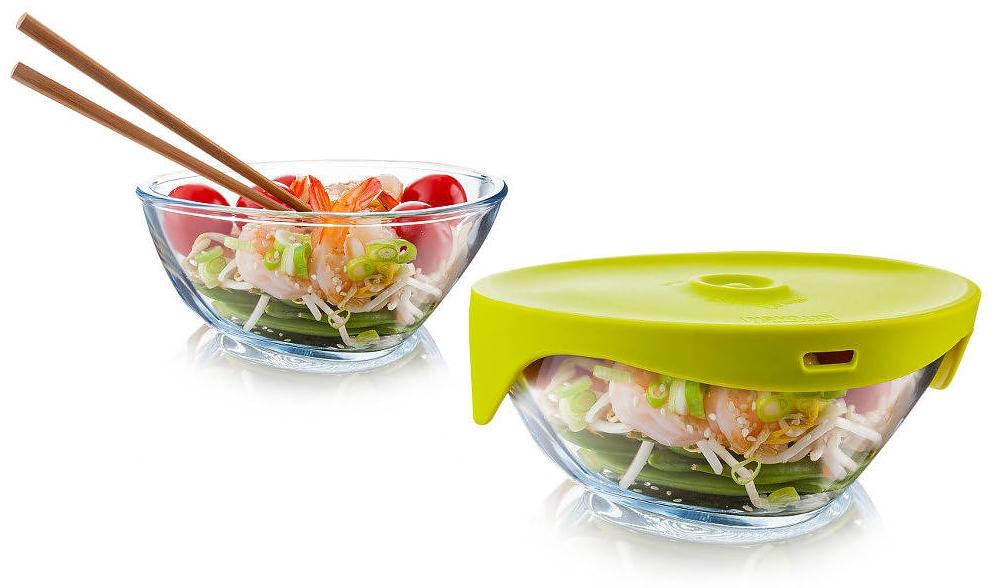 Naczynie do gotowania na parze w mikrodali