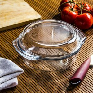 Naczynie żaroodporne szklane Termisil