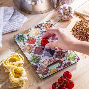 Waga kuchenna elektroniczna szklana Fruit