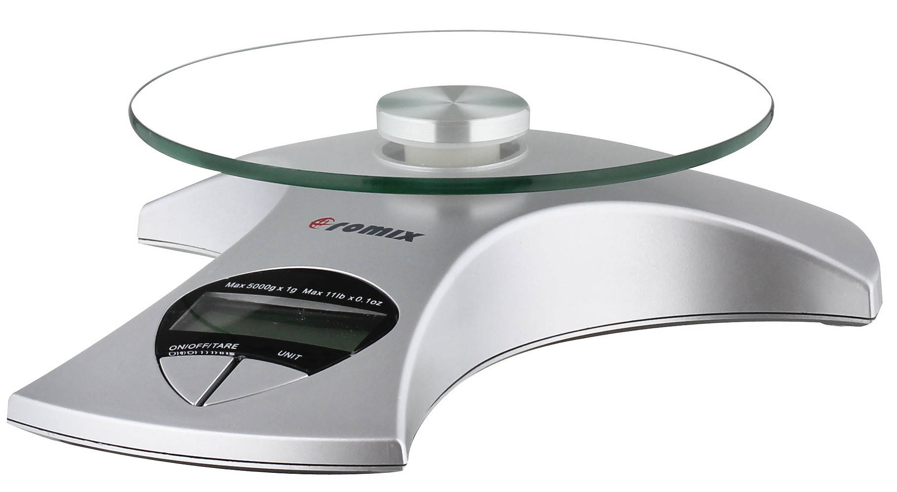 Waga kuchenna elektroniczna z talerzem Romix