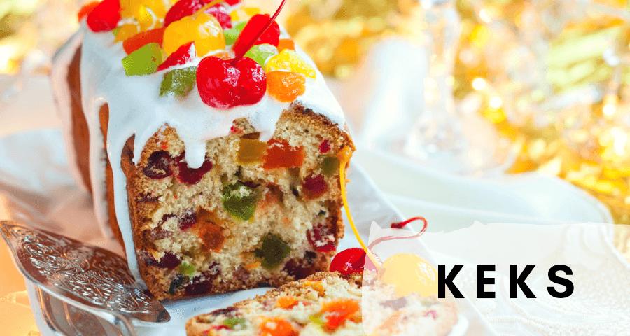 5. Keks, czyli ciasta wigilijne z bakaliami