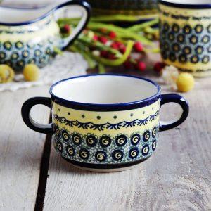 Bulionówka ceramiczna do zupy Bolesławiec