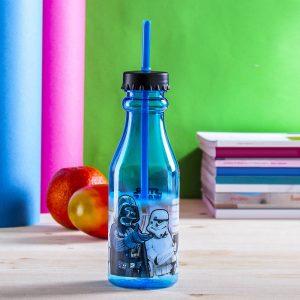 Butelka dla dzieci ze słomką Star Wars