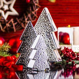 Dekoracja świąteczna ceramiczna Christmas