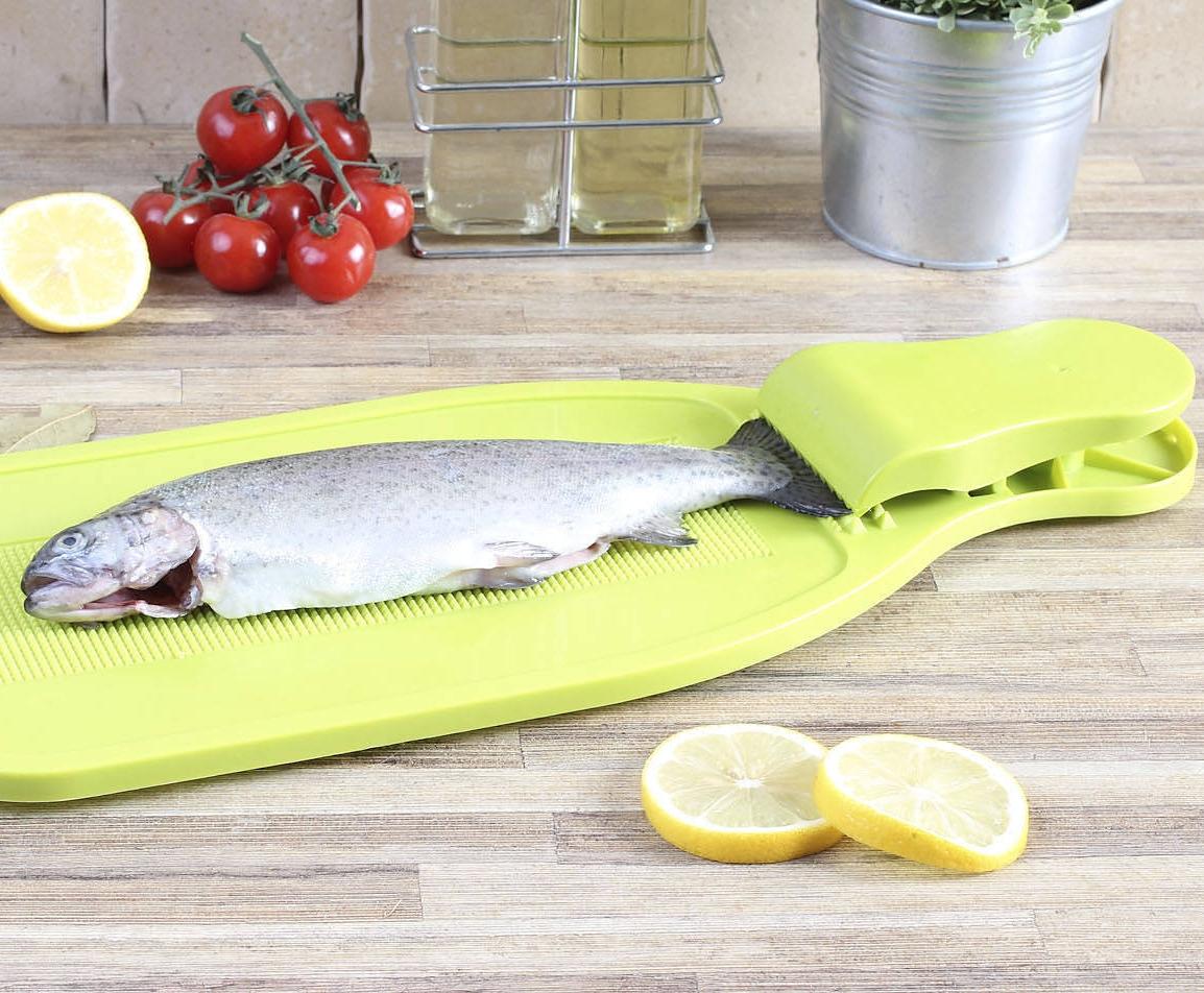 Deska do skrobania i oprawiania ryb Practic